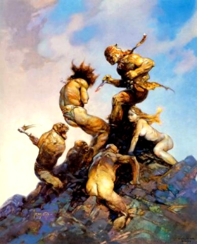 Frank Frazetta - Jaguar God II