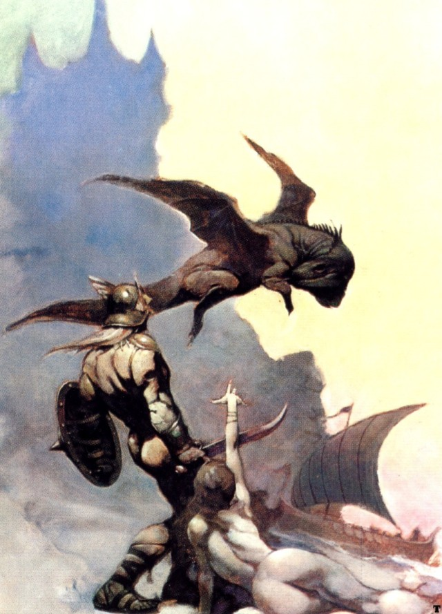 Frank Frazetta - Kavin's World
