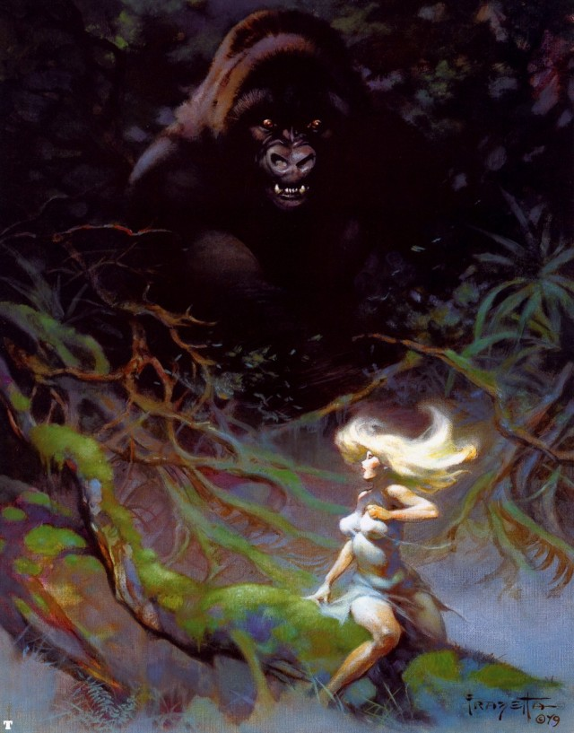 Frank Frazetta - King Kong 1