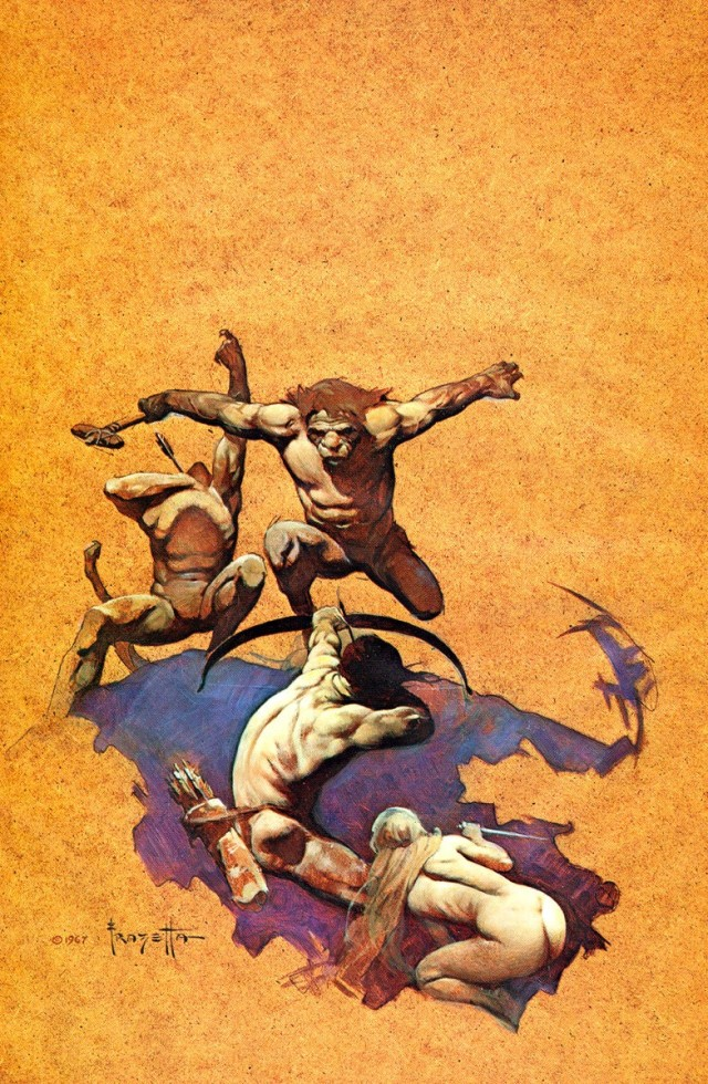 Frank Frazetta - Land of Terror 2