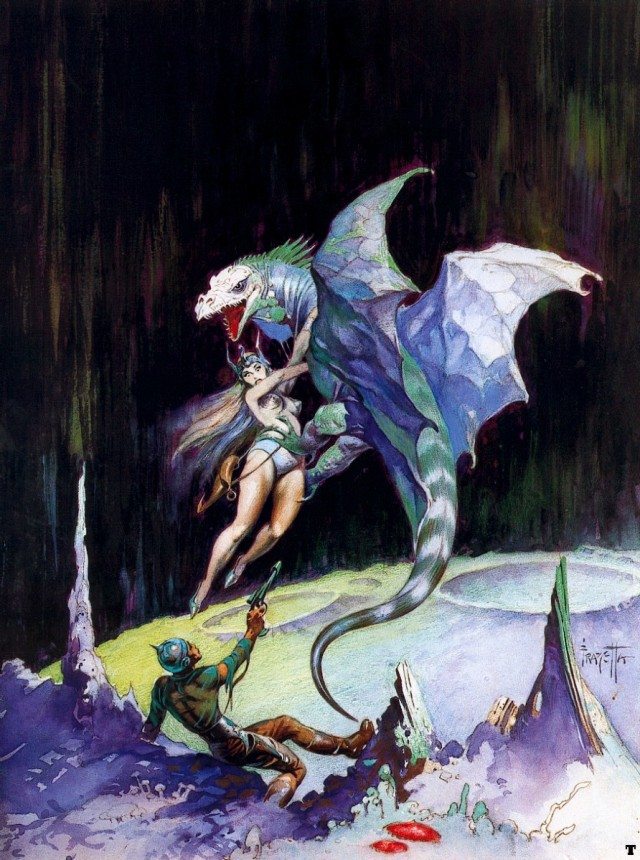 Frank Frazetta - Maza of the Moon