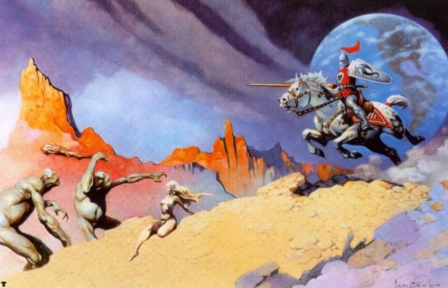 Frank Frazetta - Moon Rider