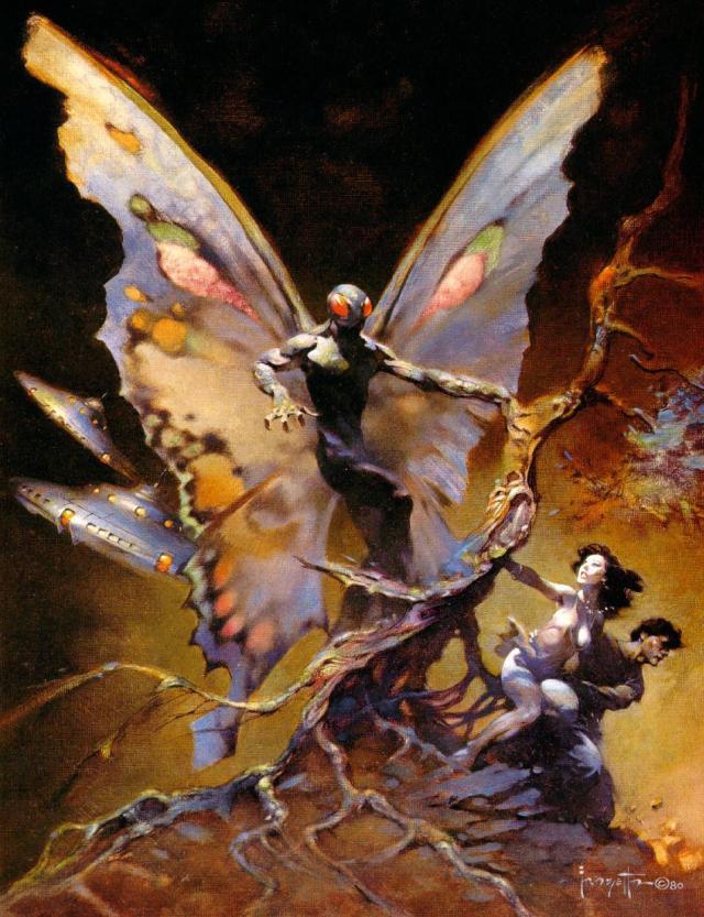 Frank Frazetta - Moth Man