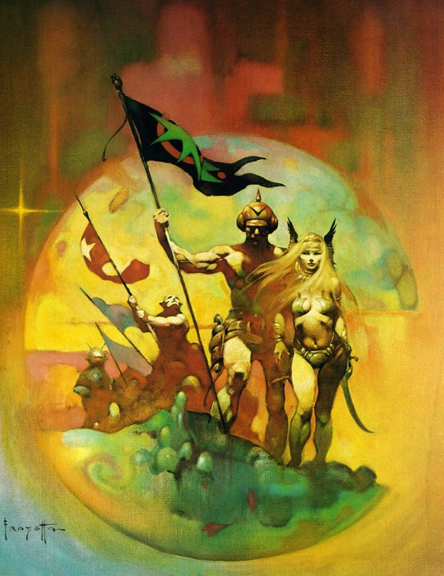 Frank Frazetta - New World