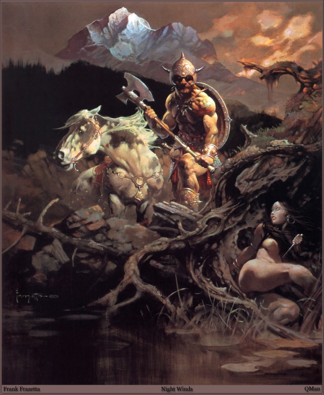 Frank Frazetta - Night Winds