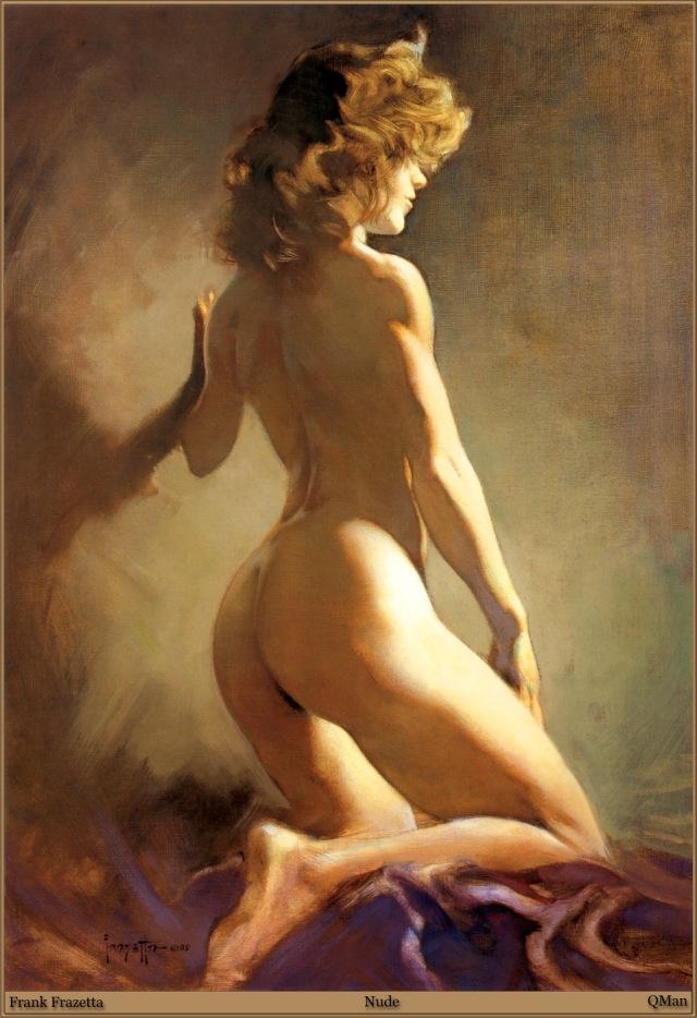 Frank Frazetta - Nude
