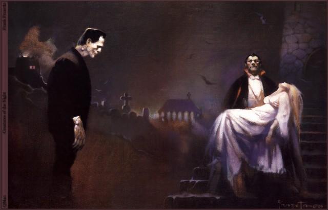 Frank Frazetta - Of the Night
