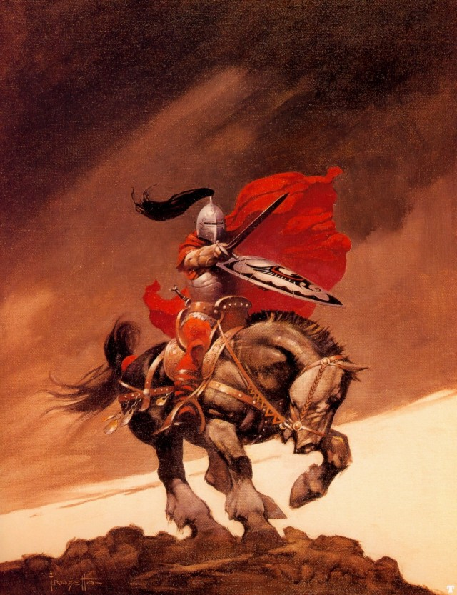 Frank Frazetta - Outlaw of Torn
