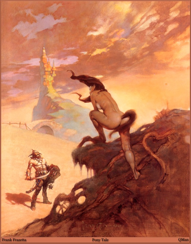 Frank Frazetta - Pony Tail
