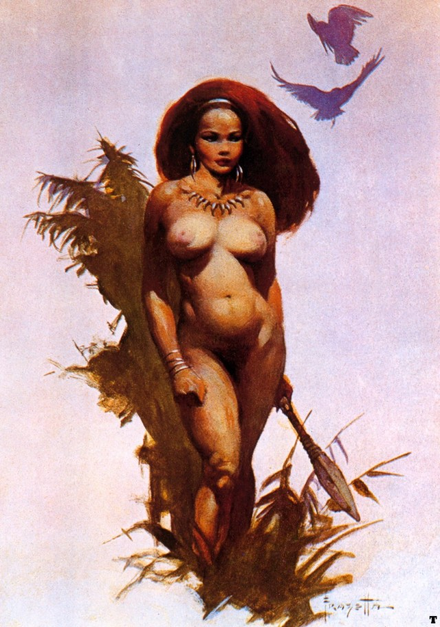 Frank Frazetta - Primitive Beauty