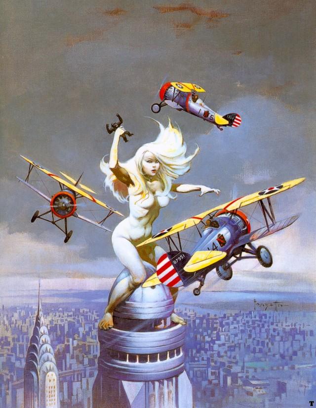 Frank Frazetta - Queen Kong