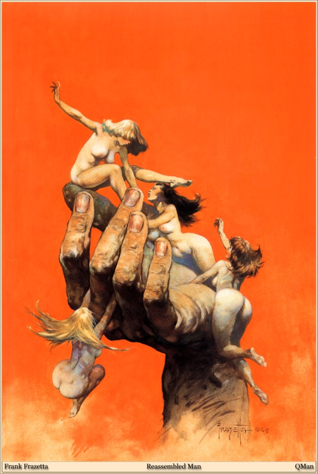 Frank Frazetta - Reassembled Man