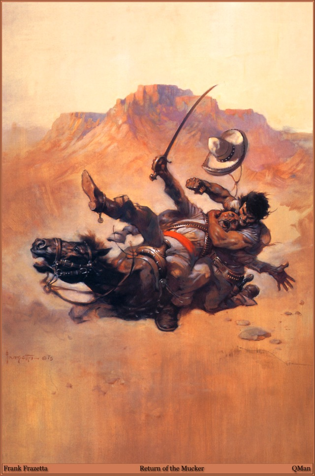 Frank Frazetta - Return of the Mucker