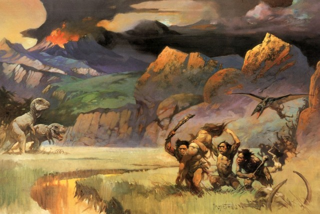 Frank Frazetta - Savage World