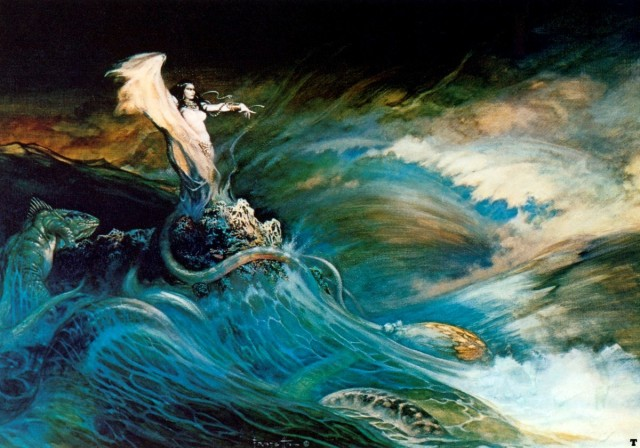 Frank Frazetta - Sea Witch