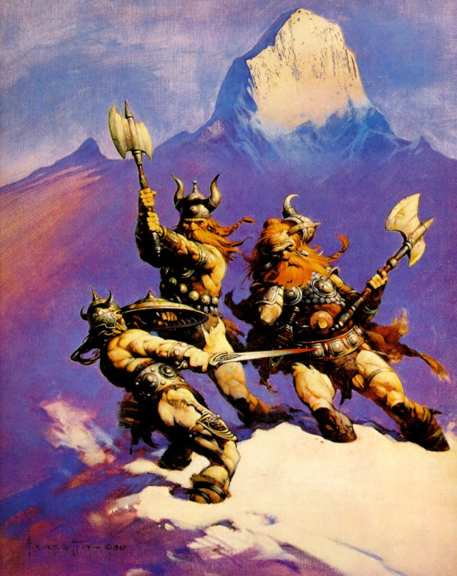 Frank Frazetta - Snow Giants
