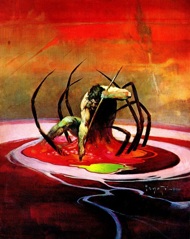 Frank Frazetta - Spider Man