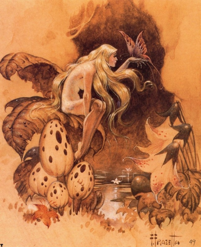 Frank Frazetta - Spirit of the Forest