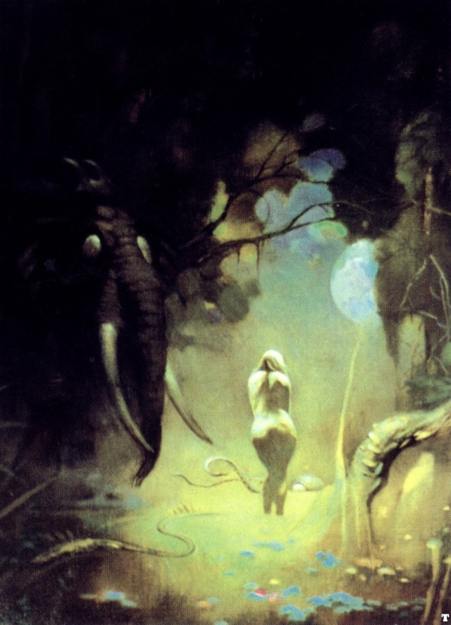 Frank Frazetta - Swamp Demon II