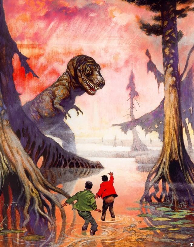 Frank Frazetta - Swamp God