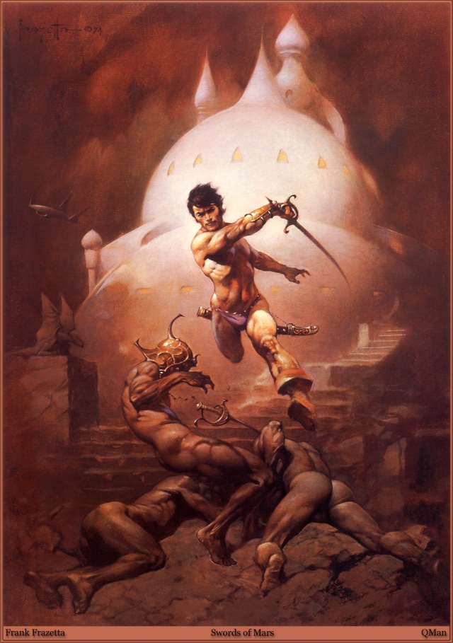 Frank Frazetta - Swords of Mars