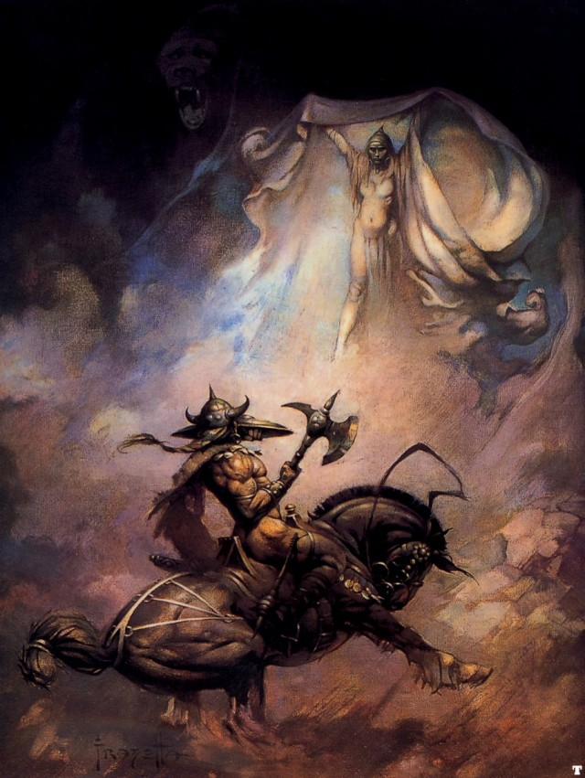 Frank Frazetta - The Apparition