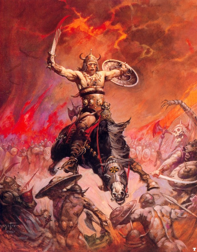 Frank Frazetta - The Berserker