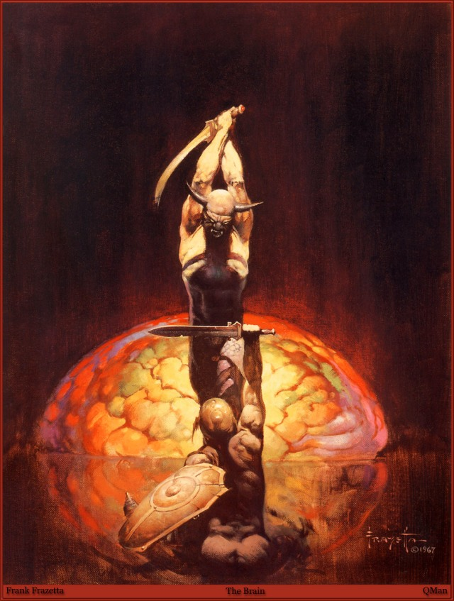 Frank Frazetta - The Brain