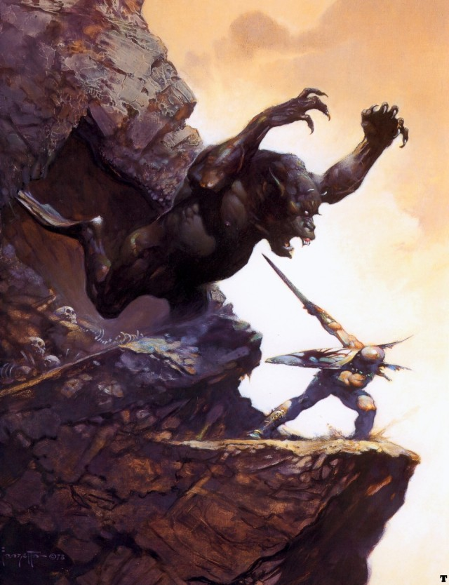 Frank Frazetta - The Cave Demon