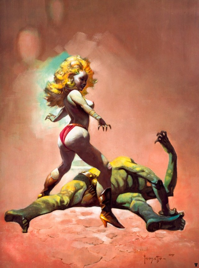 Frank Frazetta - The Countess and the Green Man