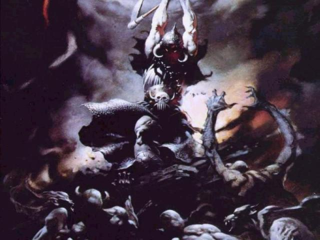 Frank Frazetta - The Death Dealer II