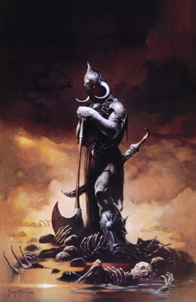 Frank Frazetta - The Death Dealer III
