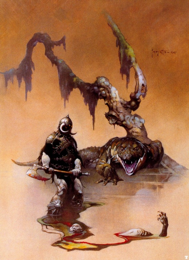 Frank Frazetta - The Death Dealer IV