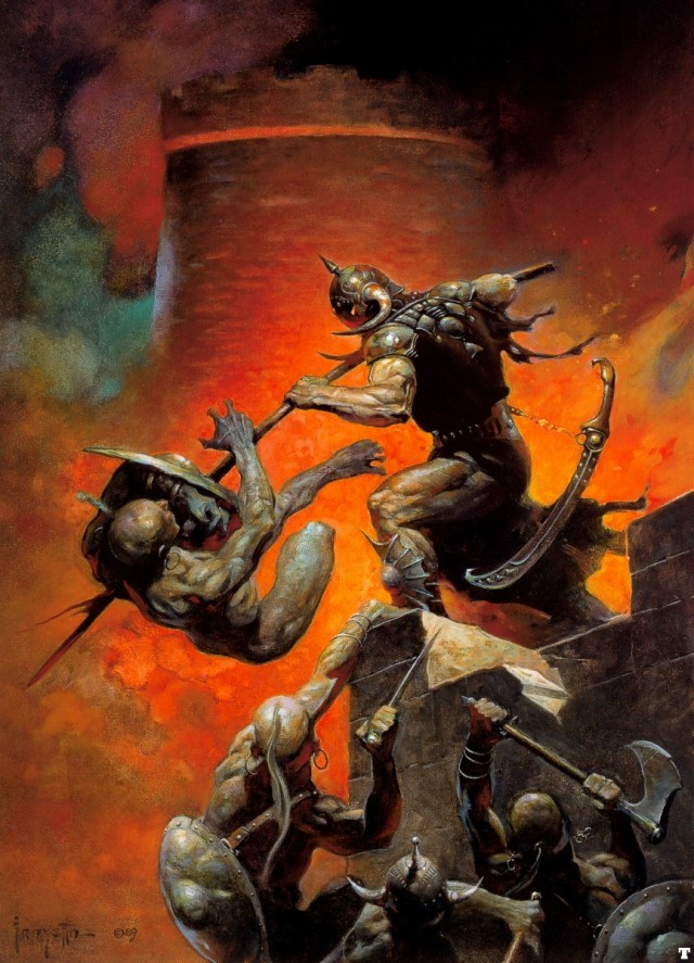 Frank Frazetta - The Death Dealer V