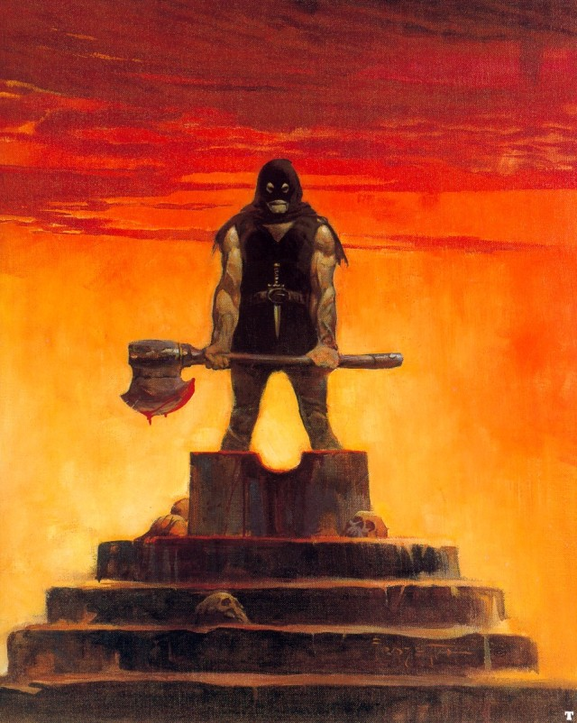 Frank Frazetta - The Executioner 1