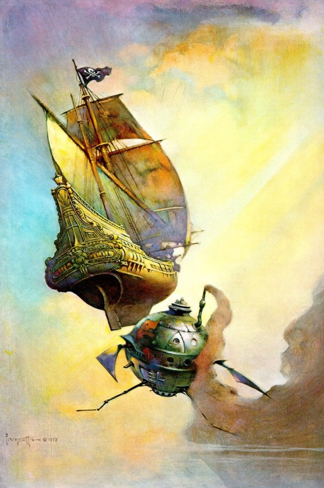 Frank Frazetta - The Galleon