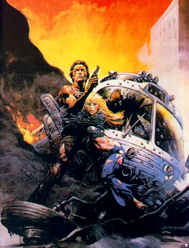 Frank Frazetta - The Gauntlet 2