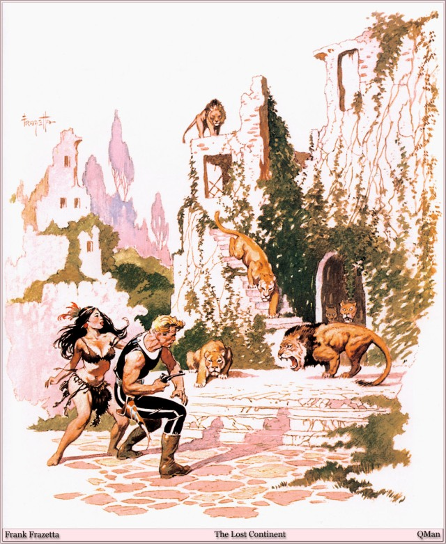 Frank Frazetta - The Lost Continent 1
