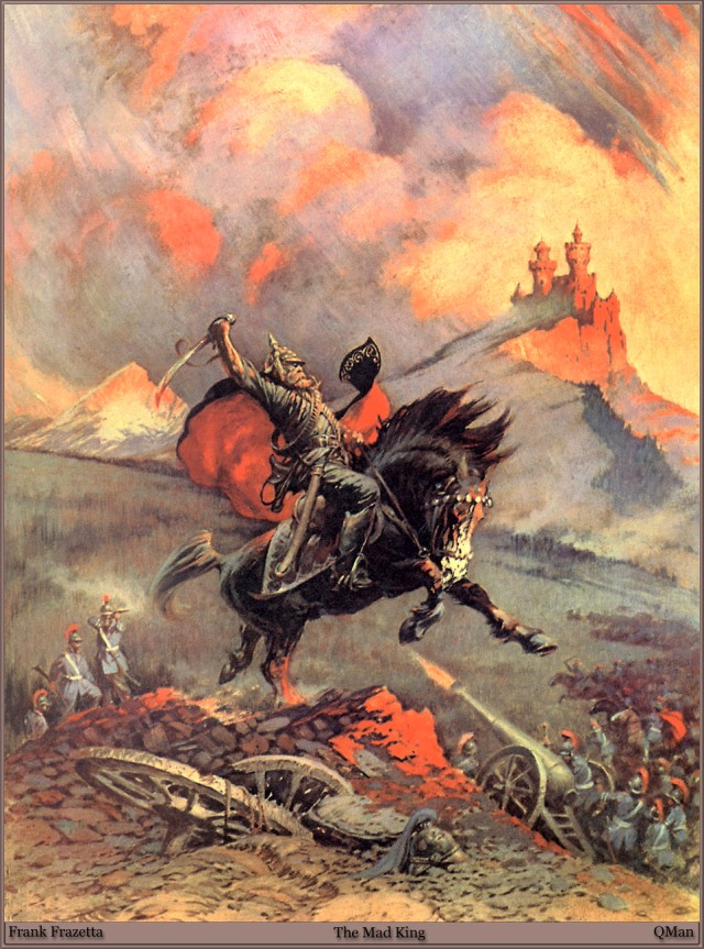 Frank Frazetta - The Mad King