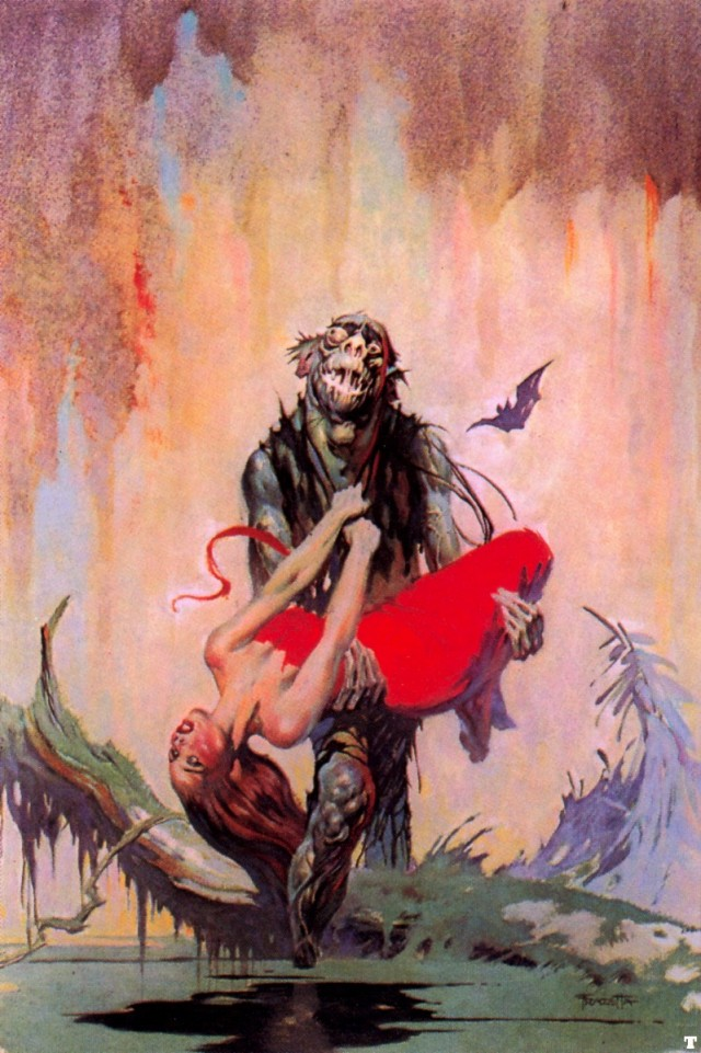 Frank Frazetta - The Monstermen