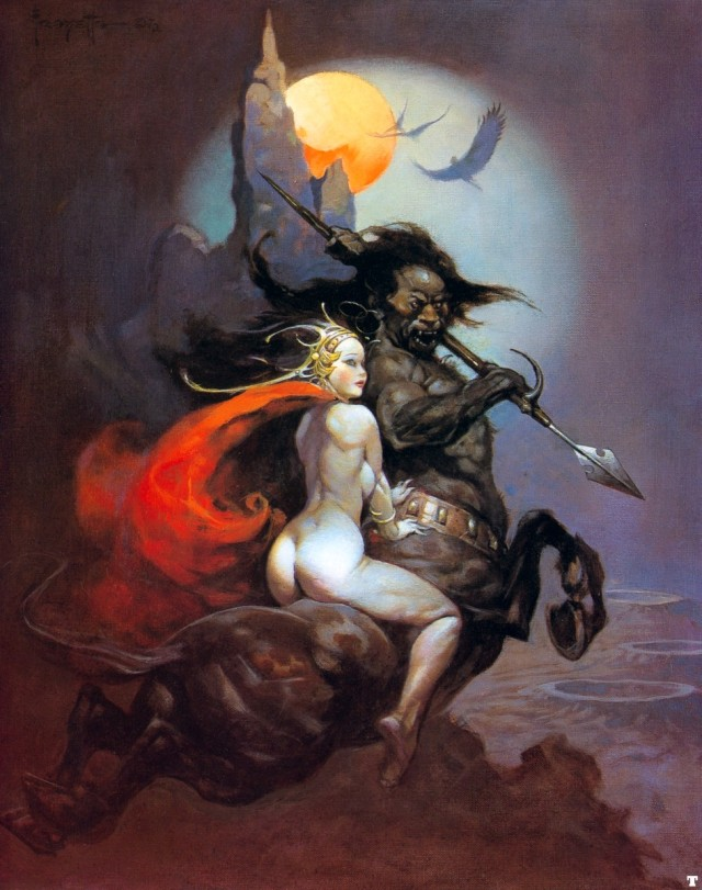 Frank Frazetta - The Moon Maid