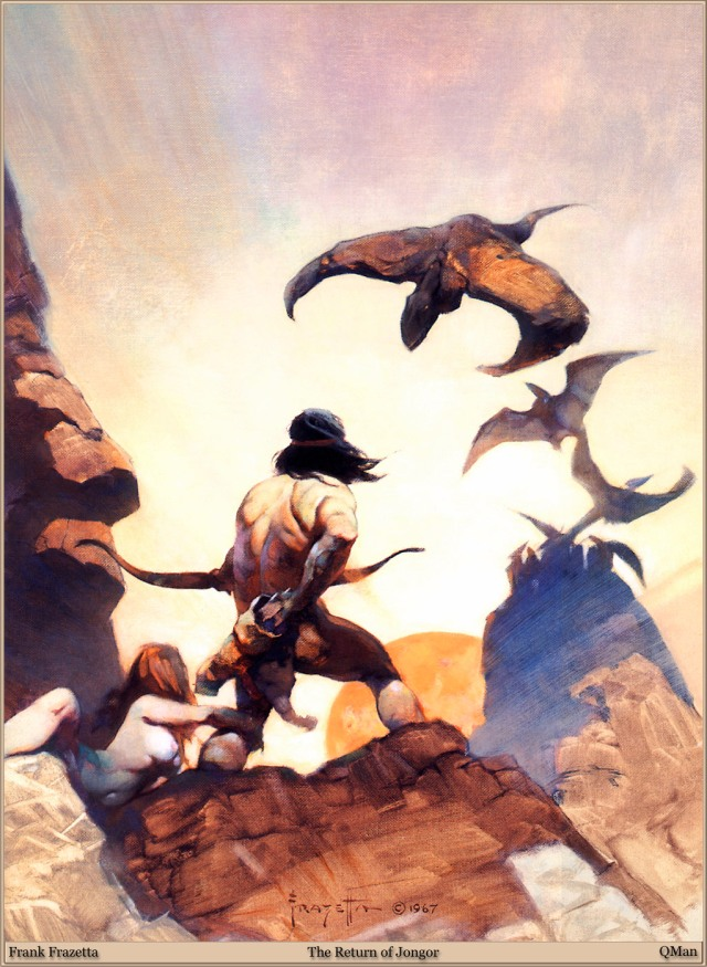 Frank Frazetta - The Return of Jongor