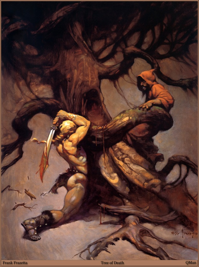 Frank Frazetta - Tree of Death