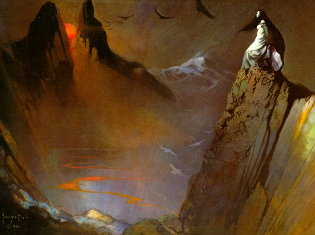 Frank Frazetta - Witch