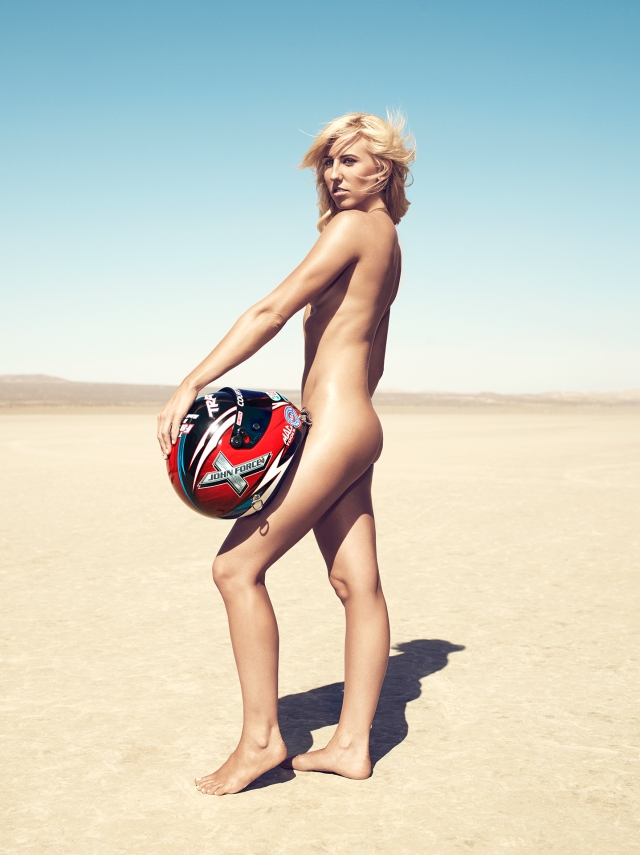 MAY 14, 2013-COURTNEY FORCE LOCATION:EL MIRAGE DRY LAKE BED PHOTOG: WILLIAMS + HIRAKAWA HAIR: NIKKI PROVIDENCE/JED ROOT MAKEUP: GLORIA NOTO/JED ROOT PROP STYLIST: ADAM RONDOU PRODUCTION: MARY JEAN RIBAS/FIRST SHOT PRODUCTIONS