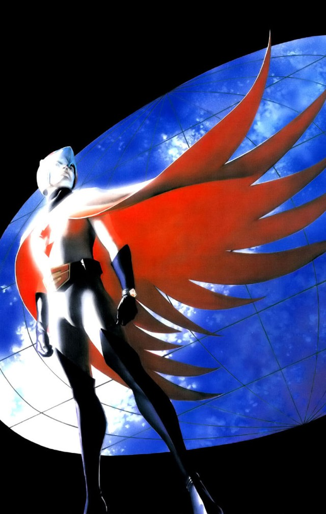 Battle of the Planets Artbook - Alex Ross (2004) page 22