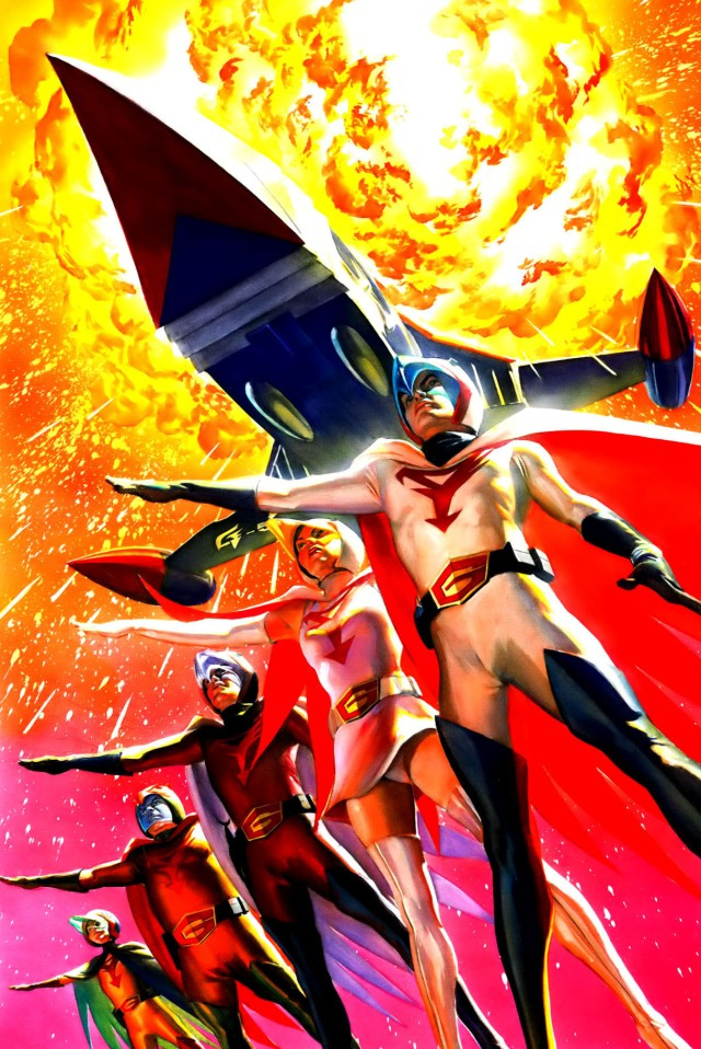Battle of the Planets Artbook - Alex Ross (2004) page 23+24