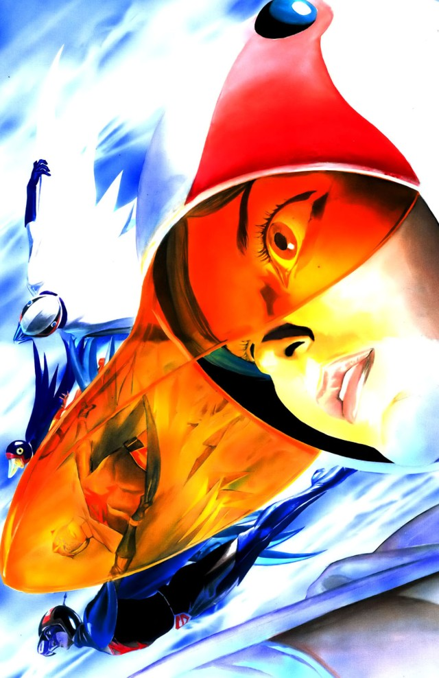 Battle of the Planets Artbook - Alex Ross (2004) page 27+28