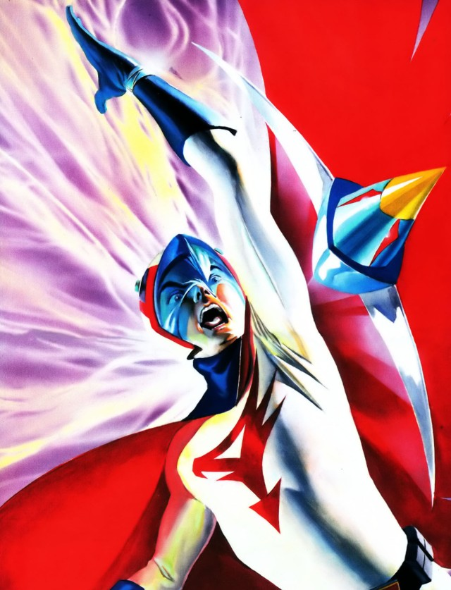 Battle of the Planets Artbook - Alex Ross (2004) page 29+30