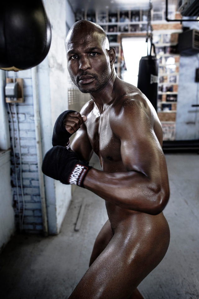 BERNARD HOPKINS Photographed by Max Vadukul on May 15, Philadelphia, PA Credits: GROOMING BY JESSICA PINEDA